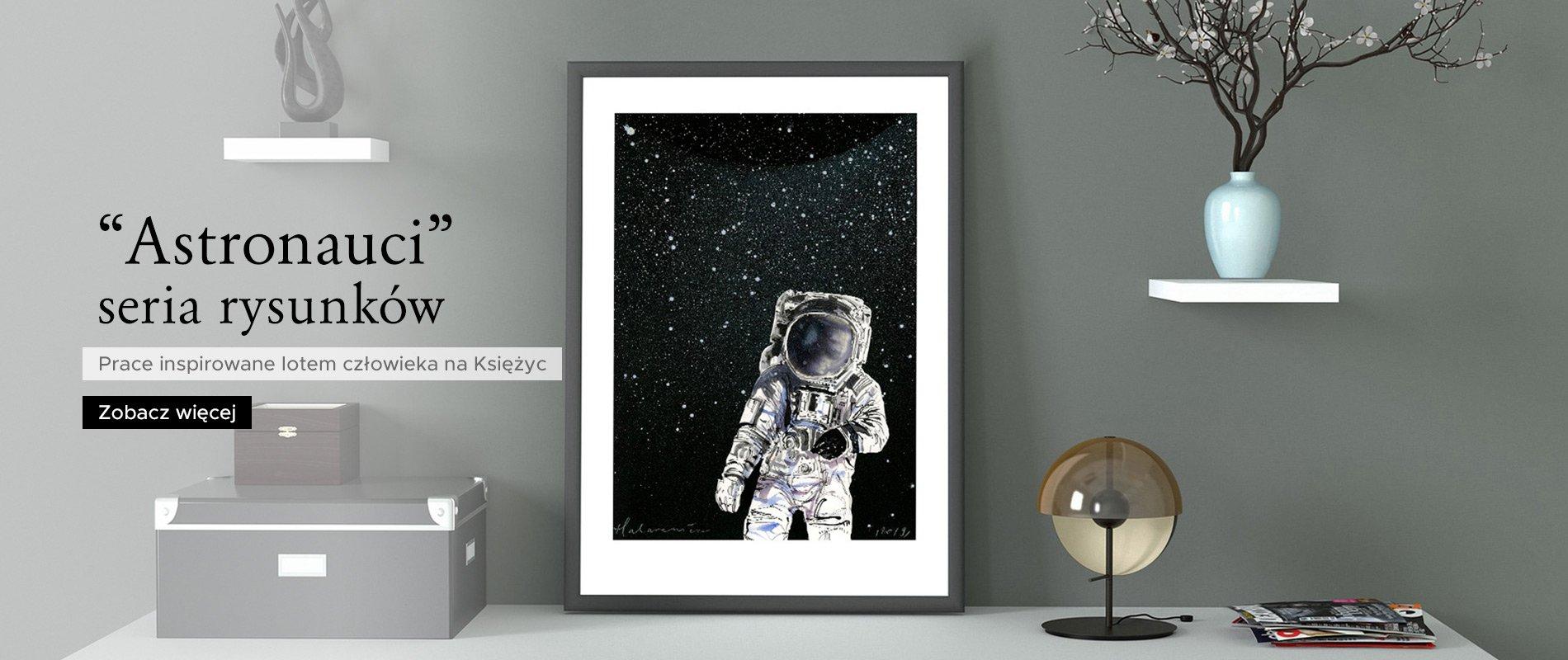 "Seria rysunków ""Astronauci"""