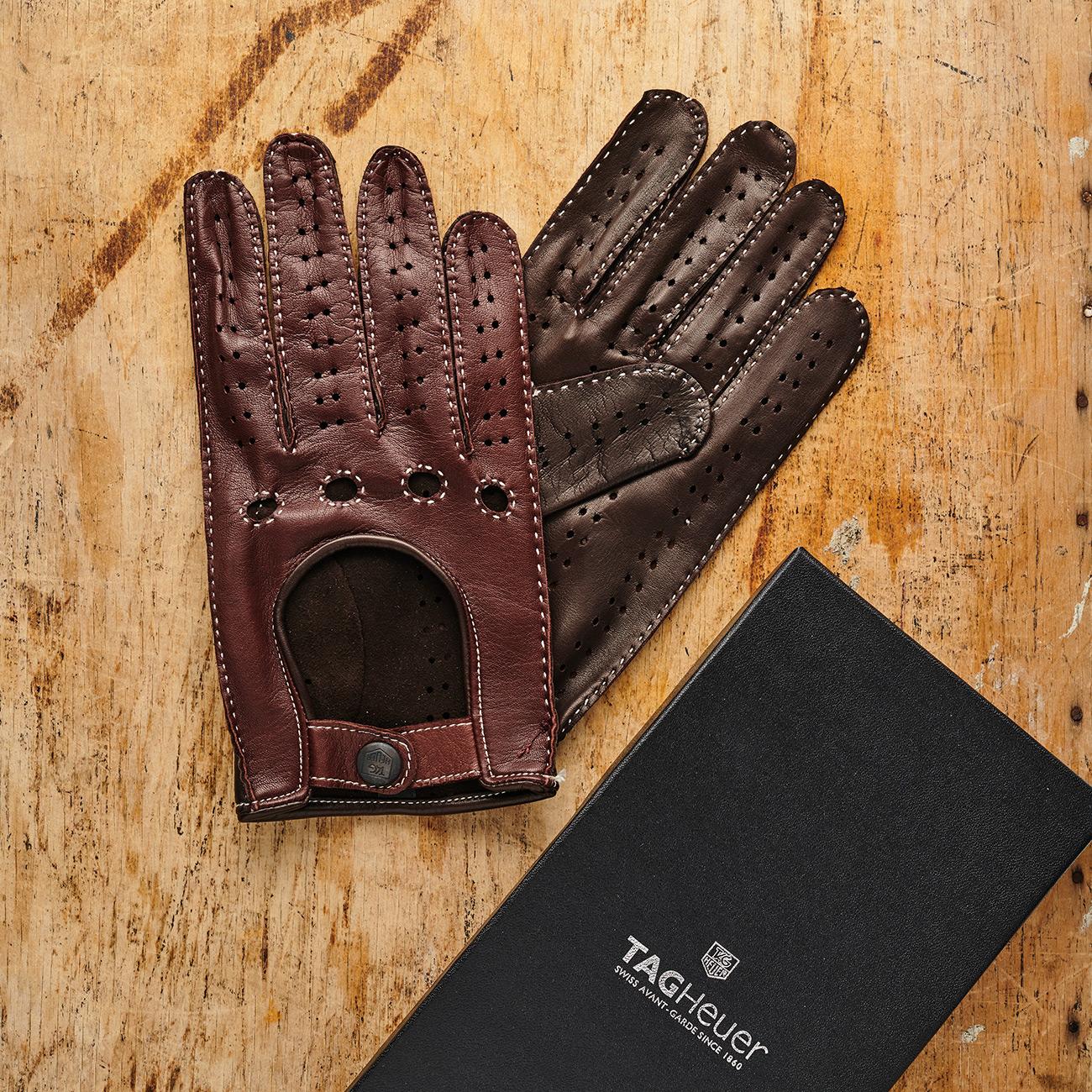 Rękawiczki samochodowe TAG Heuer