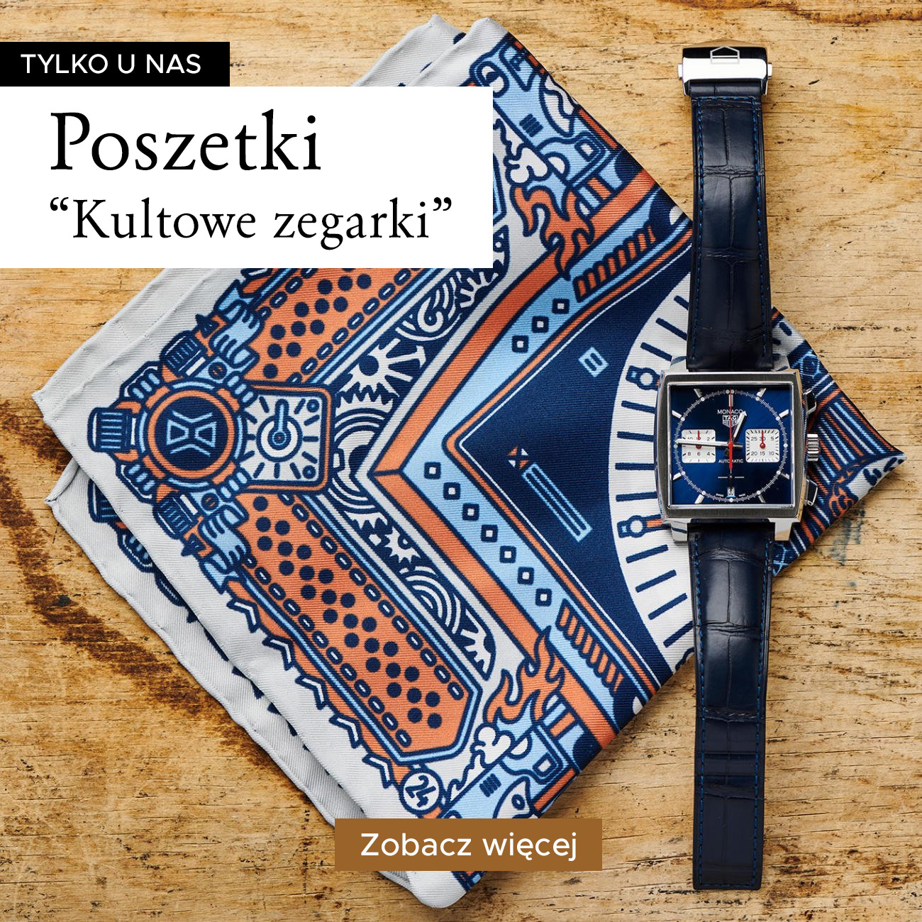Poszetki 'Kultowe Zegarki'