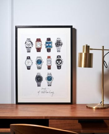 """Poster """"Icons of Watchmaking"""""""