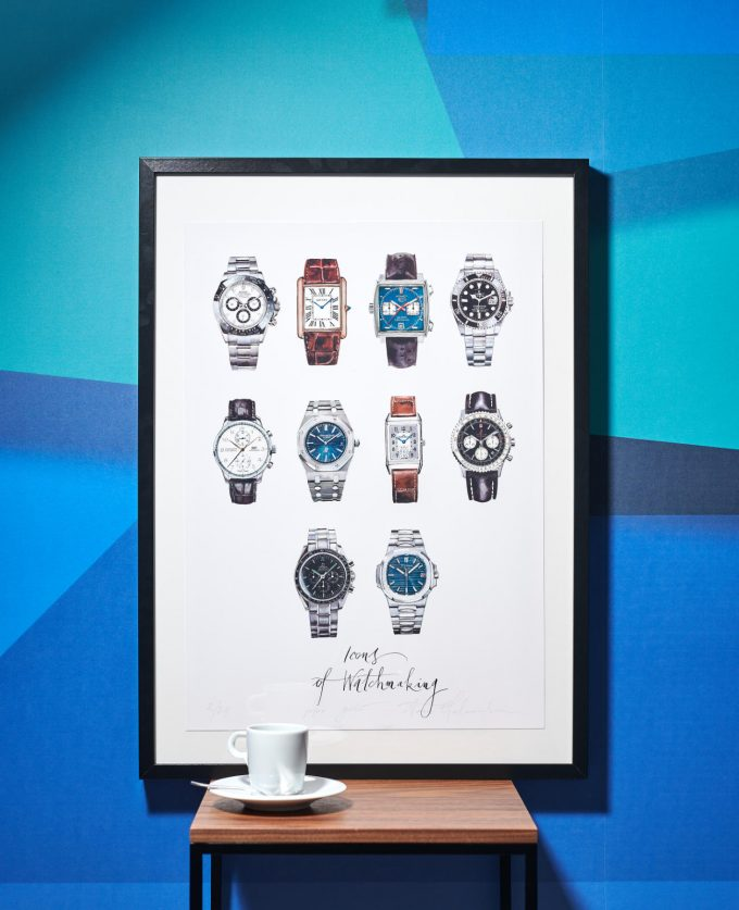 "Poster ""Icons of Watchmaking"""