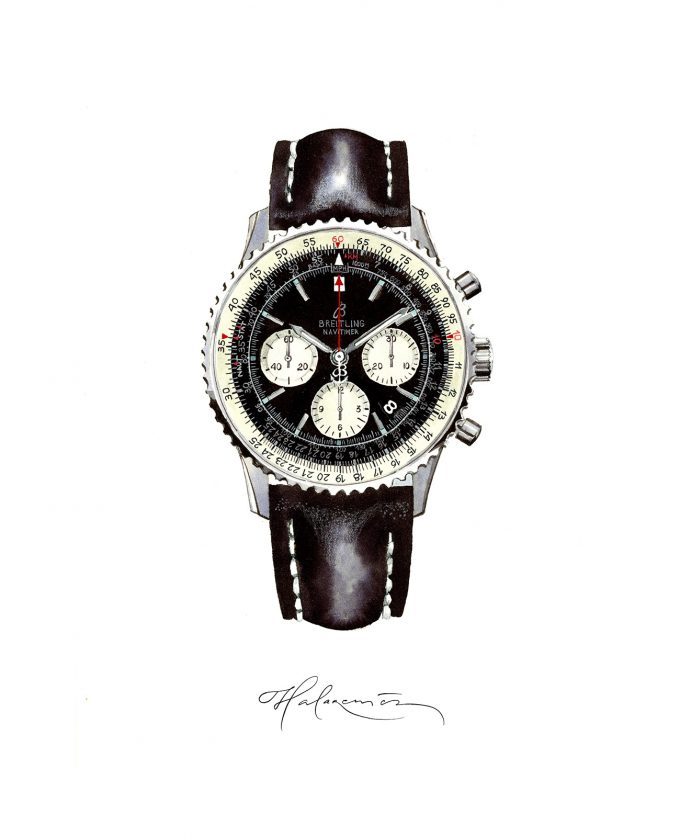 Icons of Watchmaking - Breitling Navitimer
