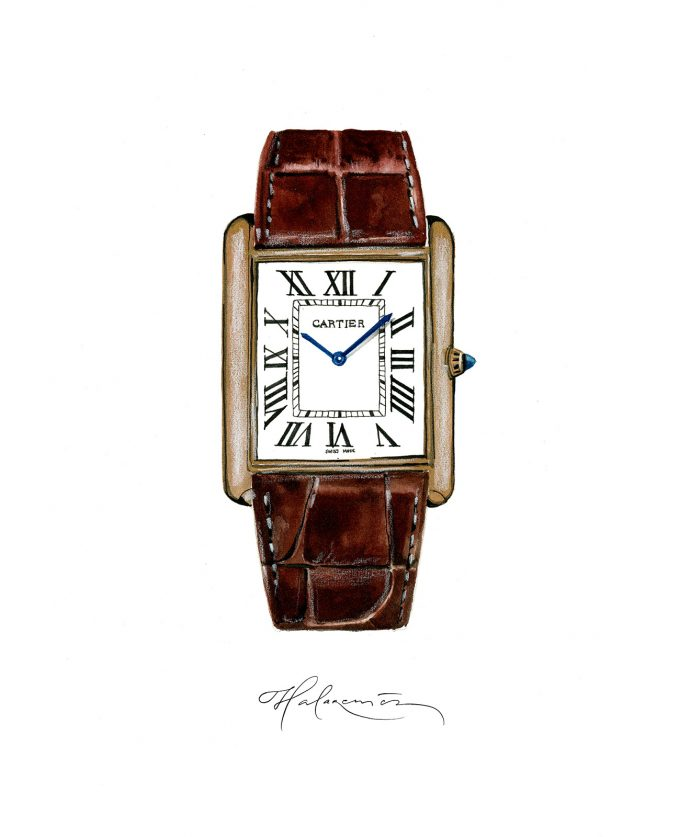 Icons of Watchmaking - Cartier Tank