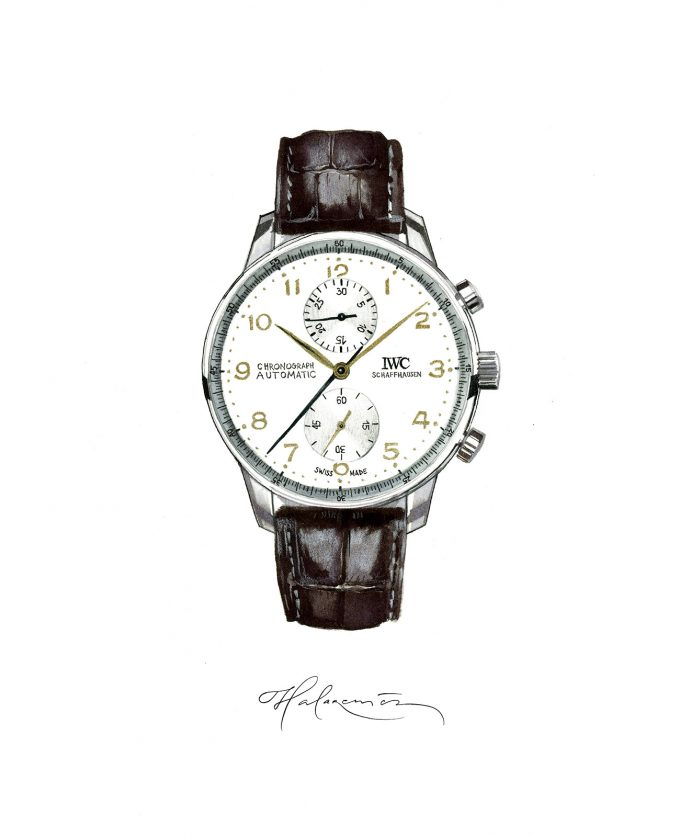 Icons of Watchmaking - IWC Portugieser