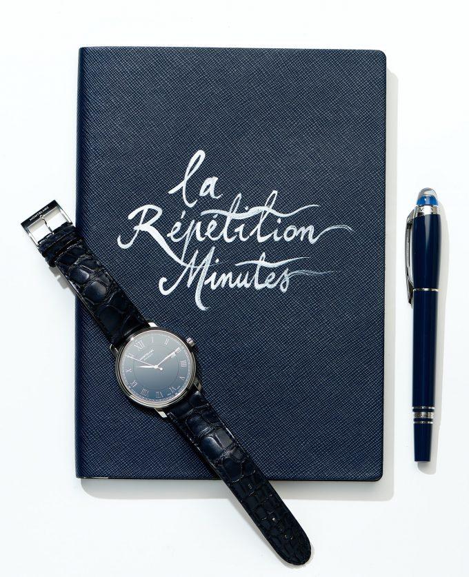 """Notes Montblanc """"la Répétition Minutes"""""""