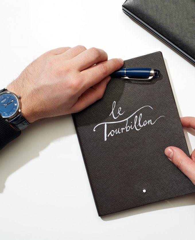 "Notes Montblanc ""le Tourbillon"""