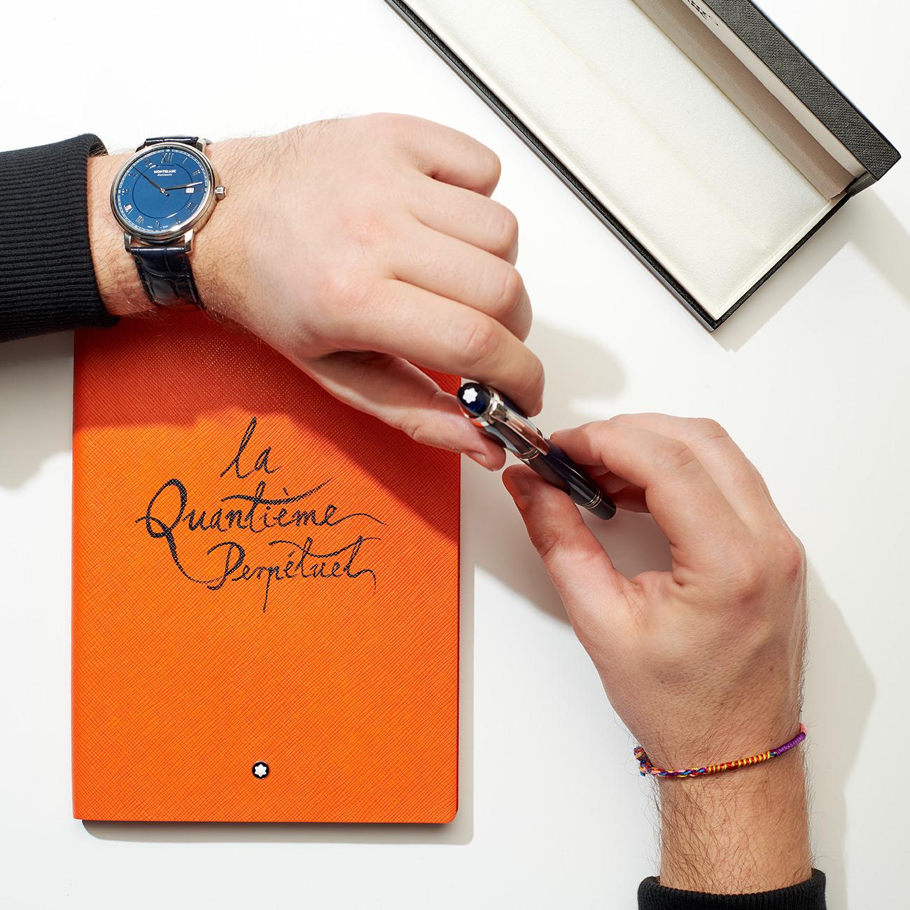 """Notes Montblanc """"la Quantième Perpétuel"""""""